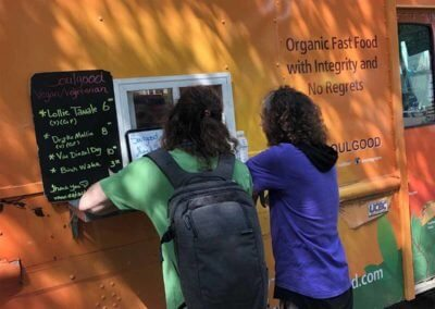 Food Trucks Earthx2020 EXPO Exhibit Earth Day 2020