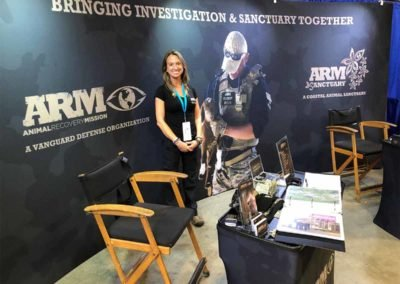 ARM Sanctuary ARM Animal Recovery Mission Earthx2020 EXPO Exhibit Earth Day 2020