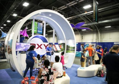 OXY Exhibit EXPO EarthX 2019 at Fair Park in Dallas, Texas.