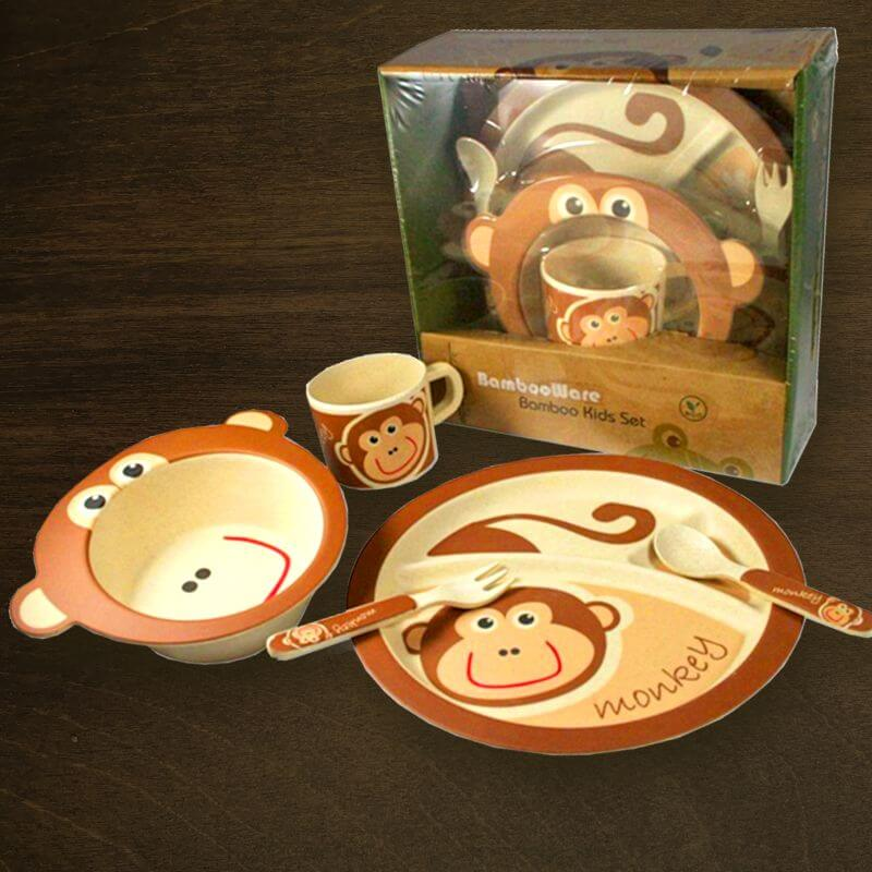 Bamboo Kids Set EarthxShop Holiday Gift Guide Collection